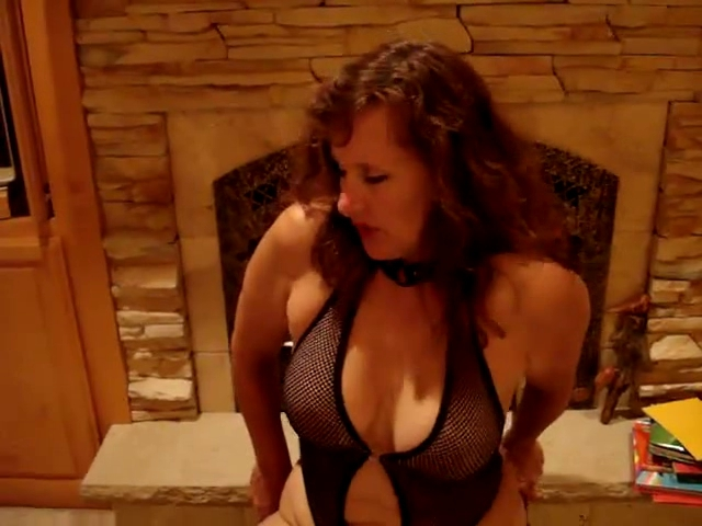 older milf riding a vibrating dildo