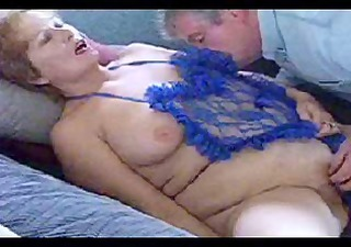 in blue and made 3 cum