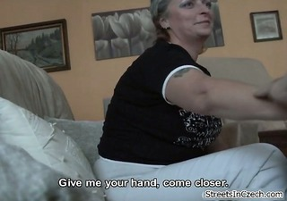 horny mature sucking dick for some